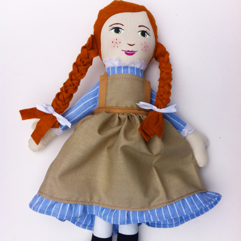 Anne of Green Gables doll by Hen and Chick