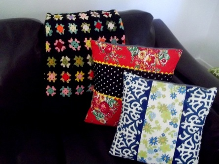 Throw PIllow Covers by Hen and Chick