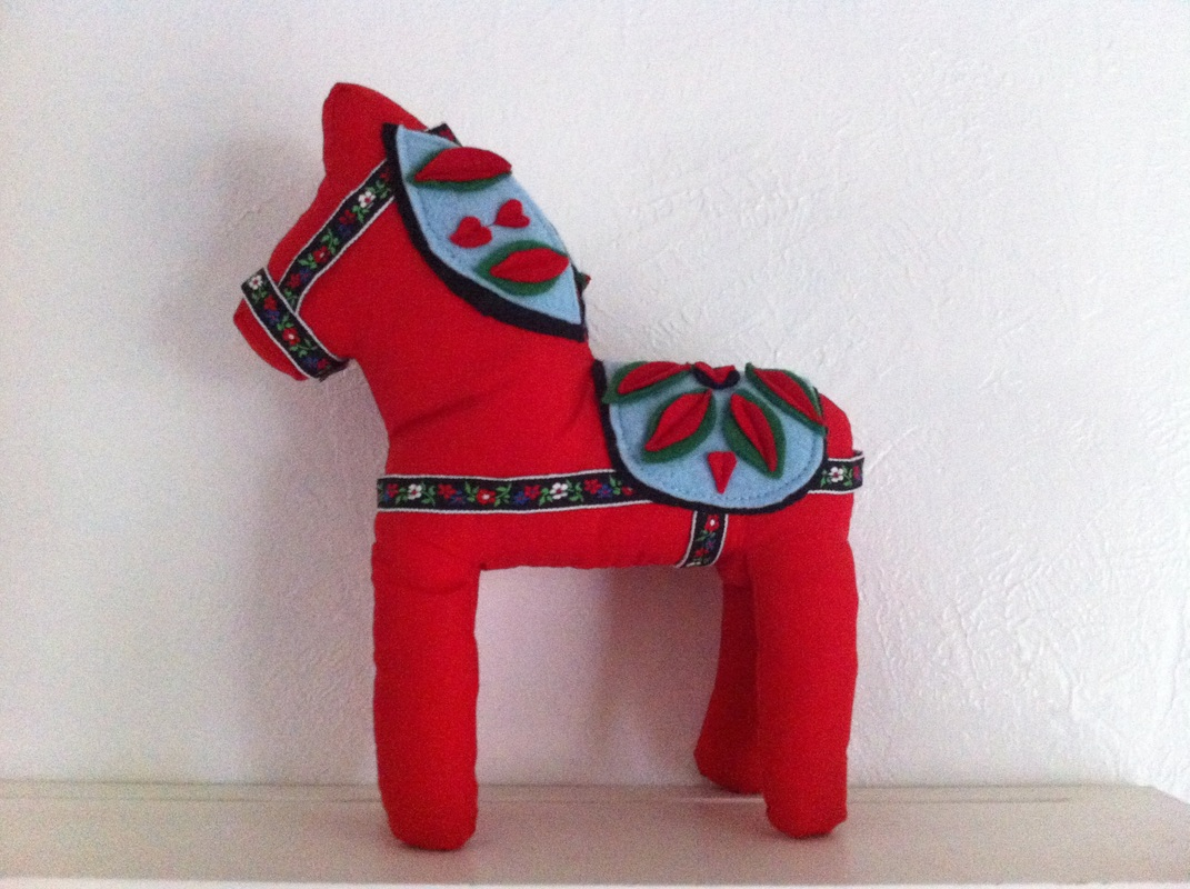 Dala Horse Stuffed Animal