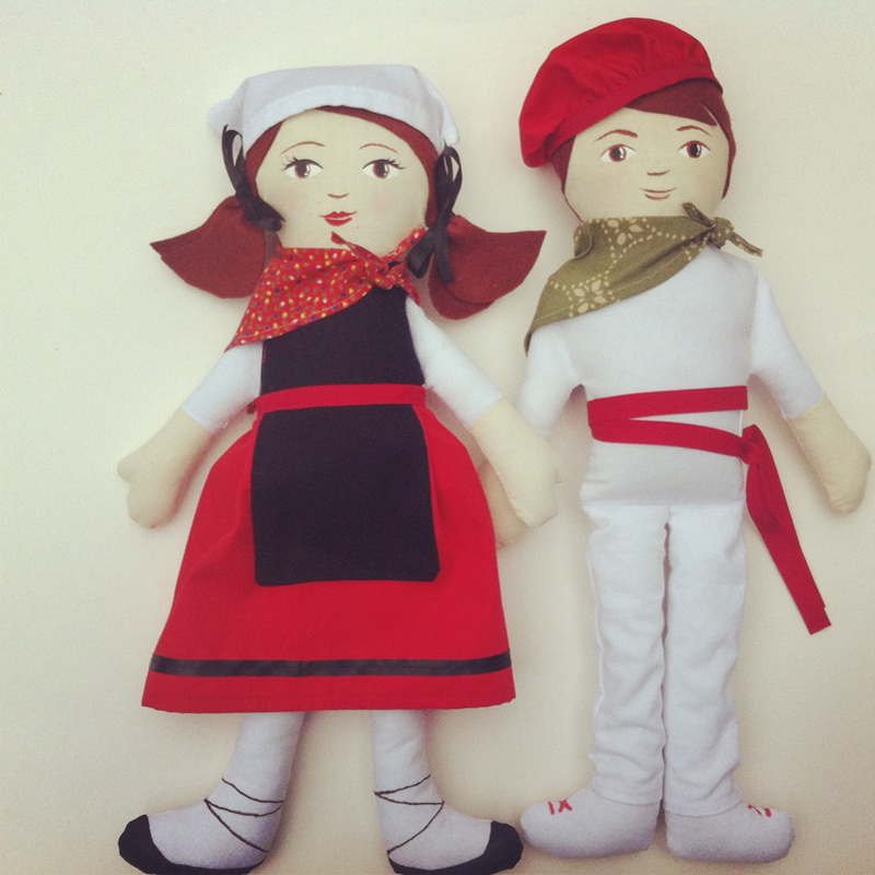 Basque Dancer Dolls