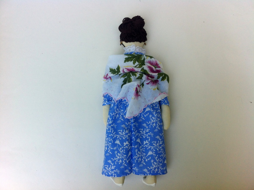 Anne Elliot Jane Austen doll by Hen and Chick